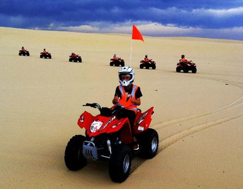 1-Hour Quad Bike Riding on Stockton Beach