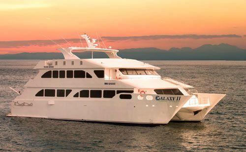 MC Galaxy II Eco Catamaran - Galapagos Cruise
