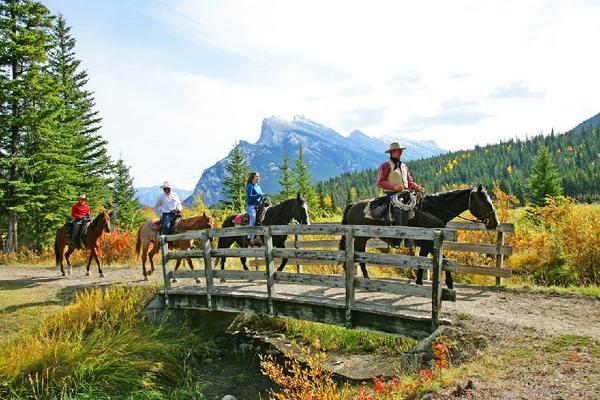 Spray River Valley Horse Riding Tour