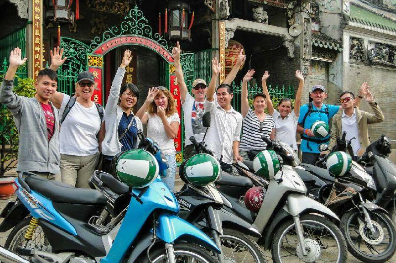 Half-Day Ho Chi Minh City Local Motorbike Tour