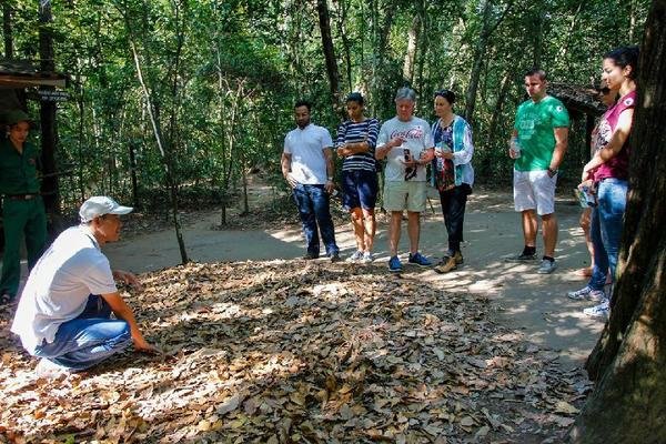 Cu Chi Tunnels Tour By Boat