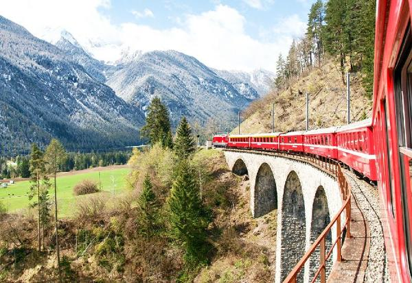 3-Day Swiss Rail Holiday Package: Bernina Express