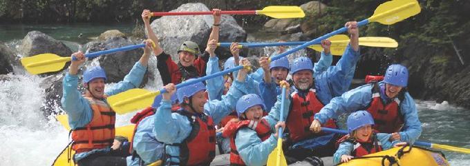 Half-Day Kanaskis River Rafting Adventure