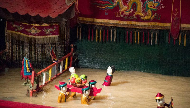 Saigon Water Puppet Show
