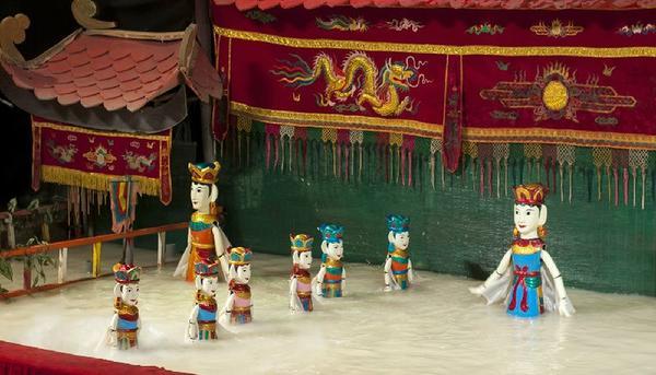 Water Puppet Show & Saigon River Cruise