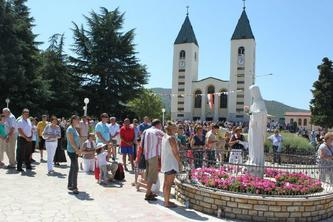 Medjugorje Private Tour from Split and Trogir