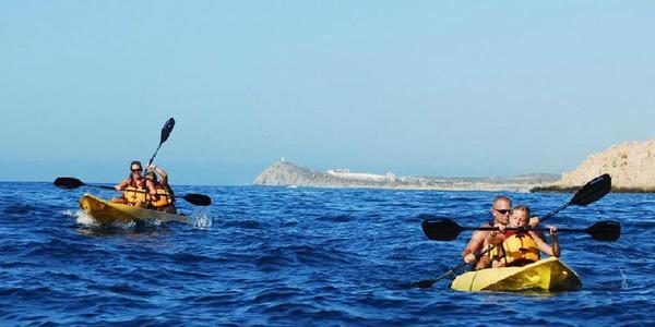 Los Cabos Glassbottom Kayaking & Snorkeling at Two Bays