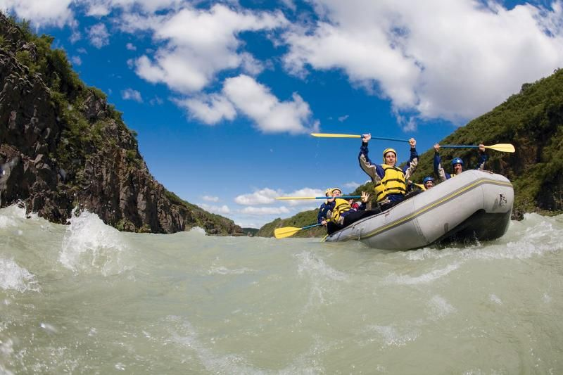 Hvita River Rafting
