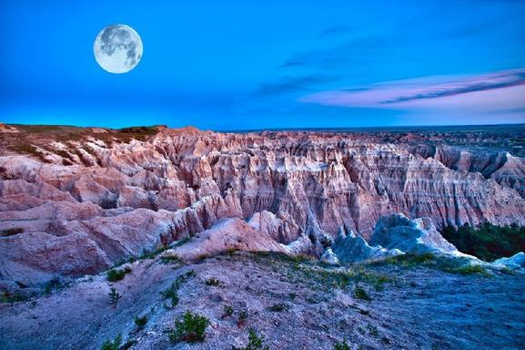 8-Day West Coast Tour From Denver: Wind Cave, Badlands, Yellowstone, Mt Rushmore & Grand Canyon
