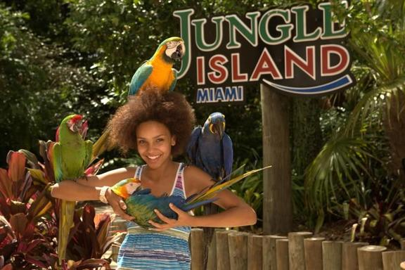 Jungle Island Ticket