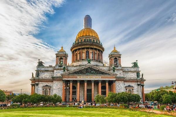 Saint Petersburg City Tour w/ Saint Isaac's Cathedral