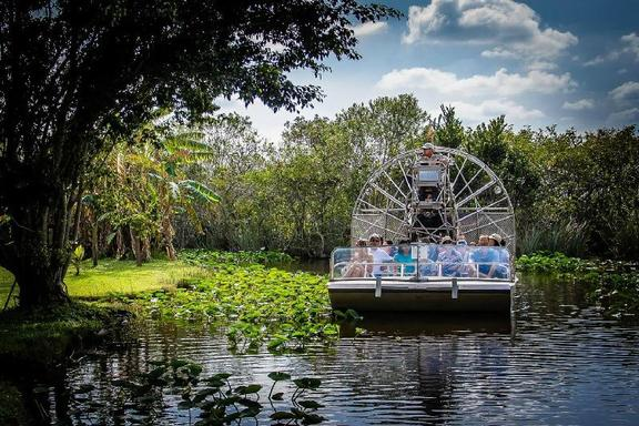 Biscayne Bay Boat & Everglades Airboat Adventure Tour