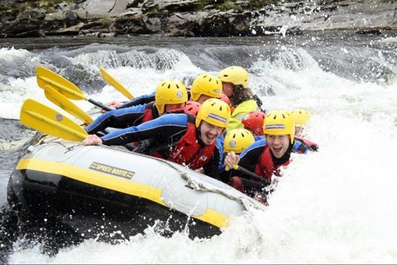 River Tay White Water Rafting From Edinburgh