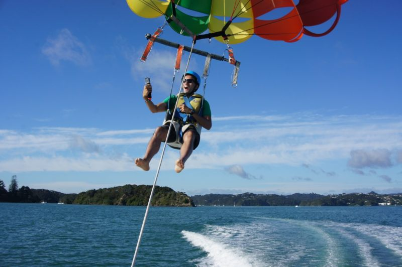 Pahia Parasailing Flight - 1200ft Single