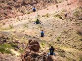 Bootleg Canyon Zipline from Las Vegas -VIP Experience**Free Wi-Fi is on our buses and VIP vans**