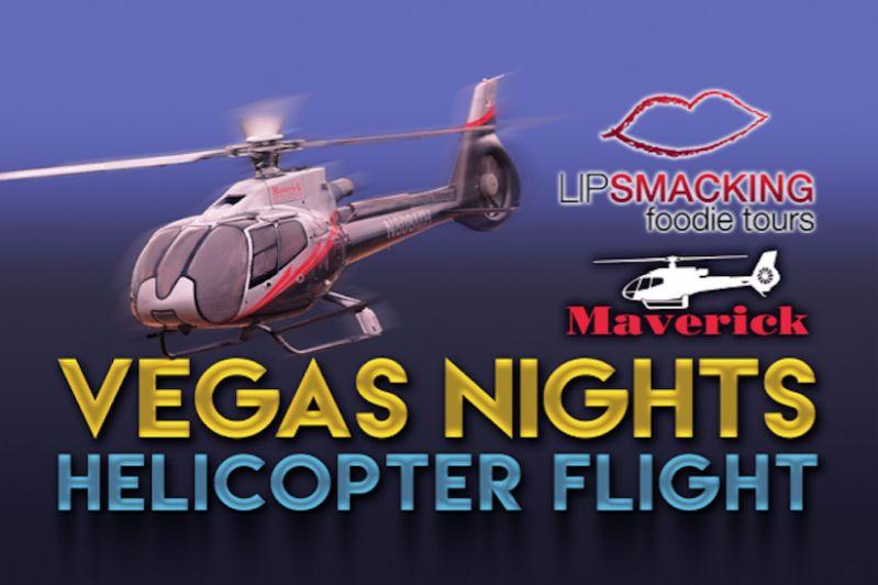 Las Vegas Savory Bites & Neon Lights W/ Helicopter Tour