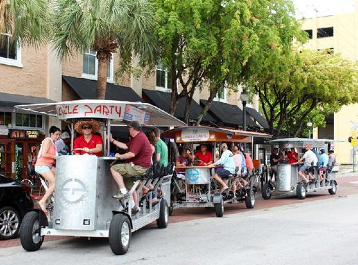 Miami Classic Cycle Party Bar Crawl
