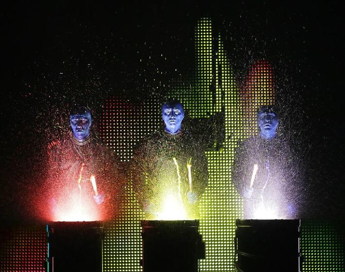 Blue Man Group at Briar Street Theatre in Chicago