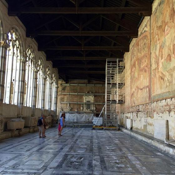 Pisa Baptistry, Sinopie Museum, Graveyard and Cathedral Ticket: Skip The Line