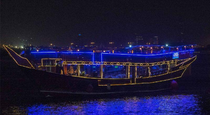 Zomorrodha Dhow Cruise along the Dubai Creek