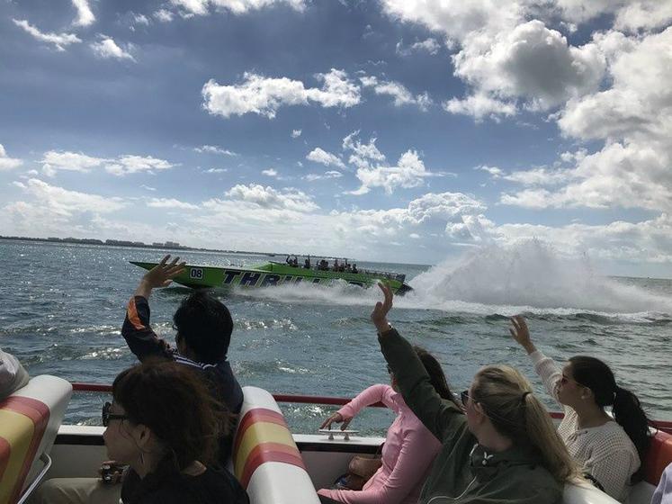 Miami Speedboat Tour to Stiltsville