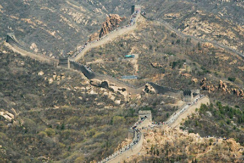 Badaling Great Wall Helicopter Tour