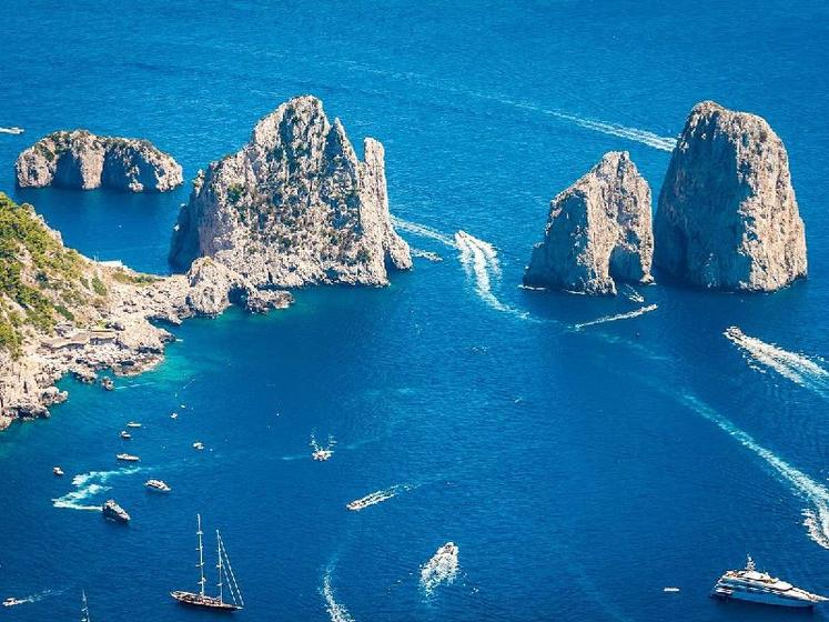 Capri Day Trip from Naples W/ Blue Grotto Option