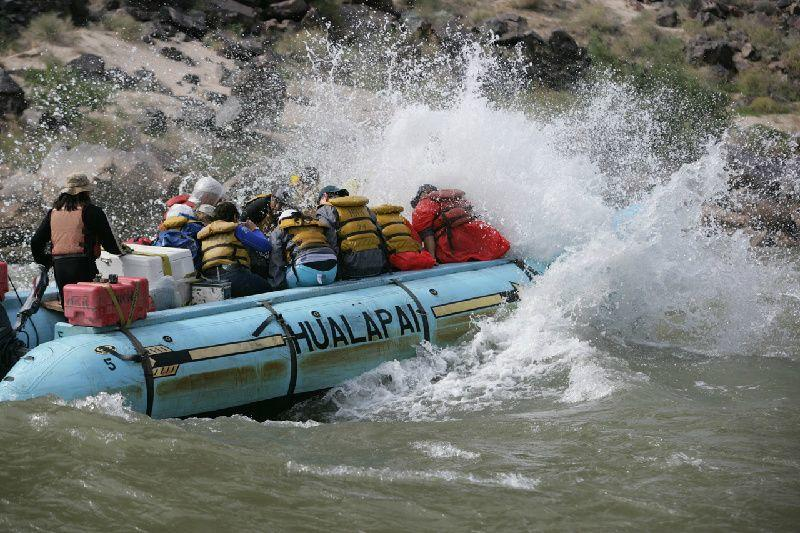Grand Canyon West Rim & Colorado River Tour: Helicopter & Whitewater Rafting Adventure
