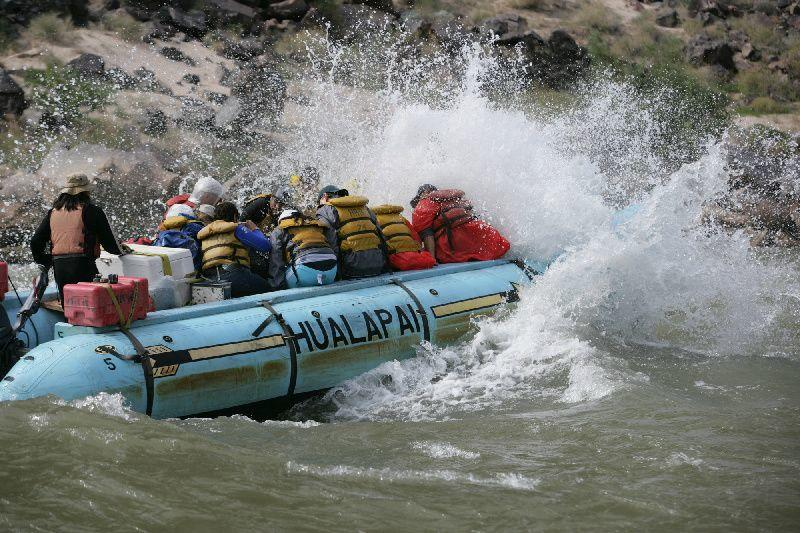 Colorado River Whitewater Rafting W/ Helicopter Flight