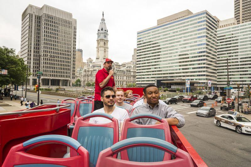 Philadelphia Hop On Hop Off Tour - 24 Hours