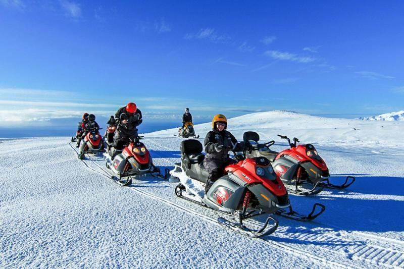 Iceland Snowmobile Adventure and South Coast Tour