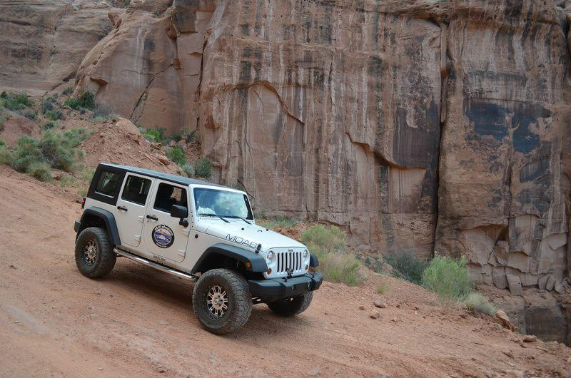 Canyonlands National Park Jeep & Fisher Towers Rafting Tour