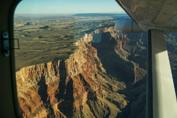 Grand Canyon West Rim Airplane Tour W/ VIP Dining