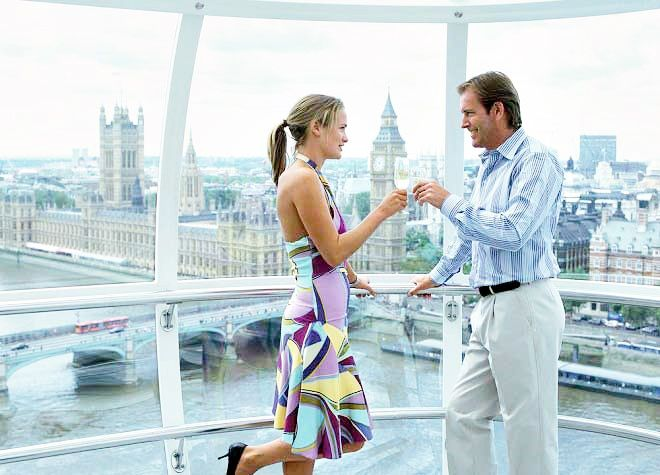 London Eye Champagne Experience w/ Fast Track Entry