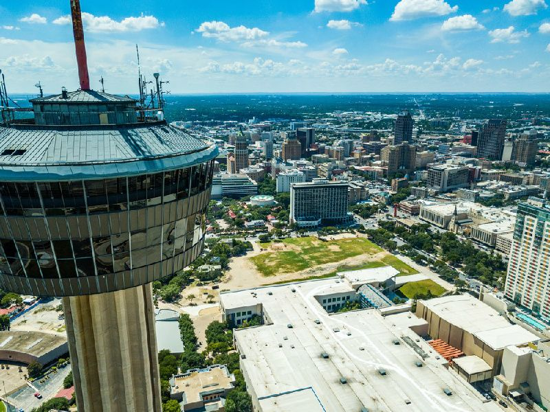 San Antonio Hop-On Hop-Off Tour W/ Tower of the Americas Ticket - 48 Hours
