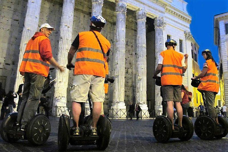2.5-Hour Rome Segway Tour After Dark