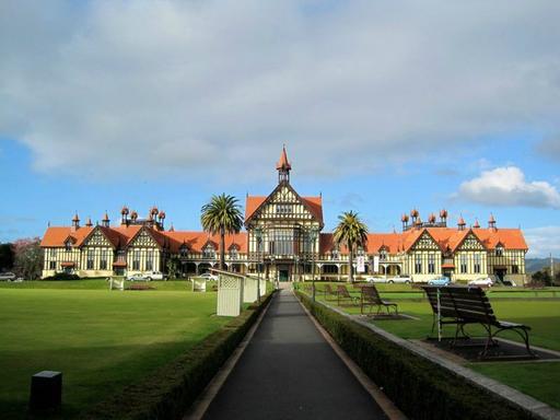 Rotorua Tour W/ Te Puia, Rainbow Springs and Agrodome