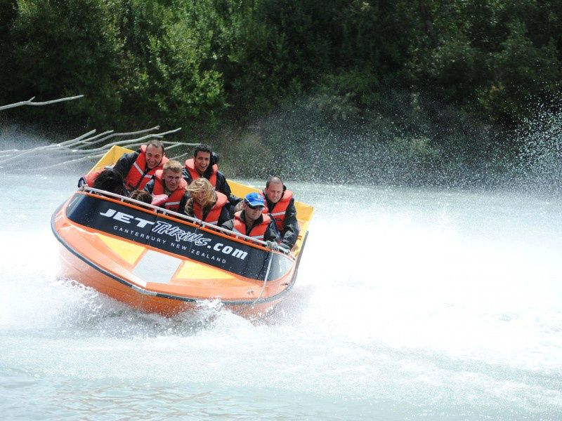 Waimakariri River Jet Boating W/ Transfer From Christchurch