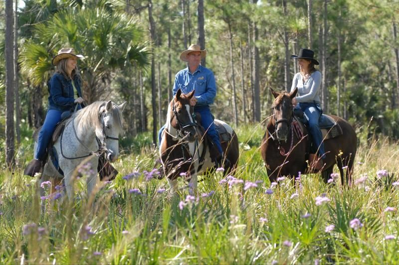 Horseback Adventure at Forever Florida