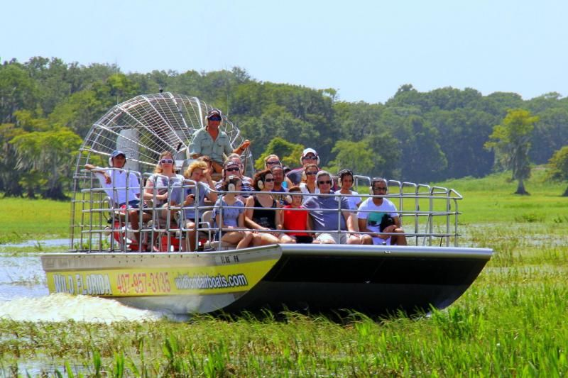 30 Minute Wild Florida Airboat Ride & Admission