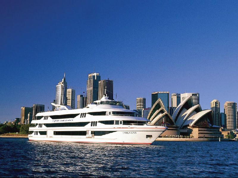 Morning Sydney City Tour with Captain Cook Harbour Luncheon Cruise