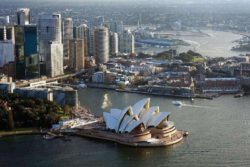 Morning Sydney City Tour with Helicopter Flight