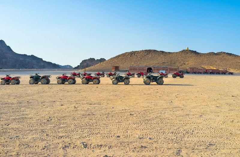 5-Hour Sahara Quad Bike Safari Trip