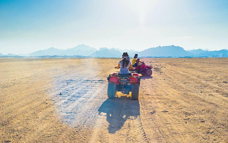 3-Hour Desert Quad Bike Safari