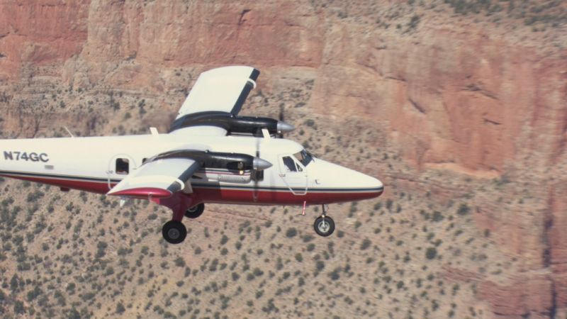 Grand Canyon West Visionary Airplane Tour