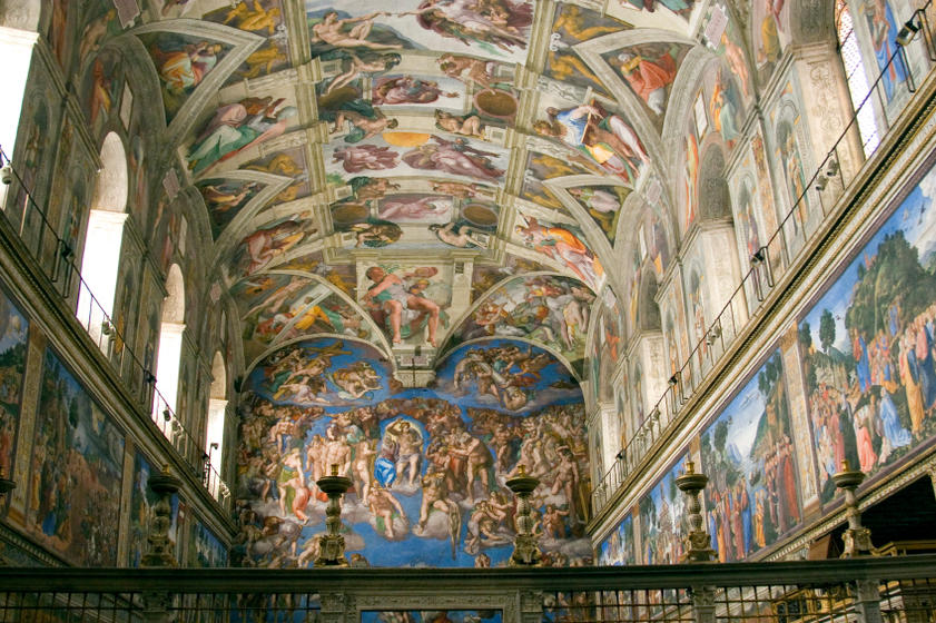Vatican Museums, Sistine Chapel + St. Peter's Basilica Small Group Tour