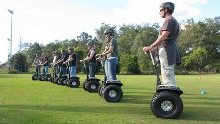Segway Tour at Rochford Winery