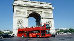 hop on hop off trolley tour:Paris Hop-on Hop-off Sightseeing Tour