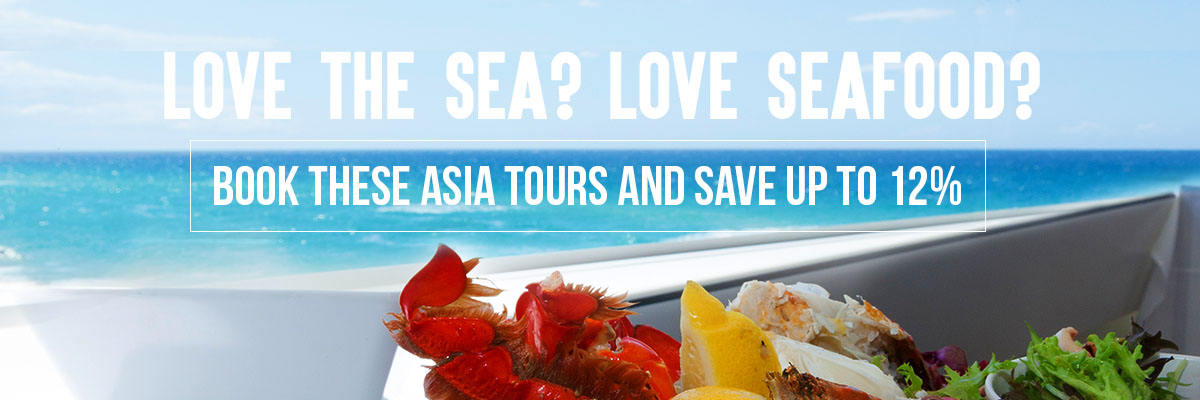 Beaches and Seafood in Asia