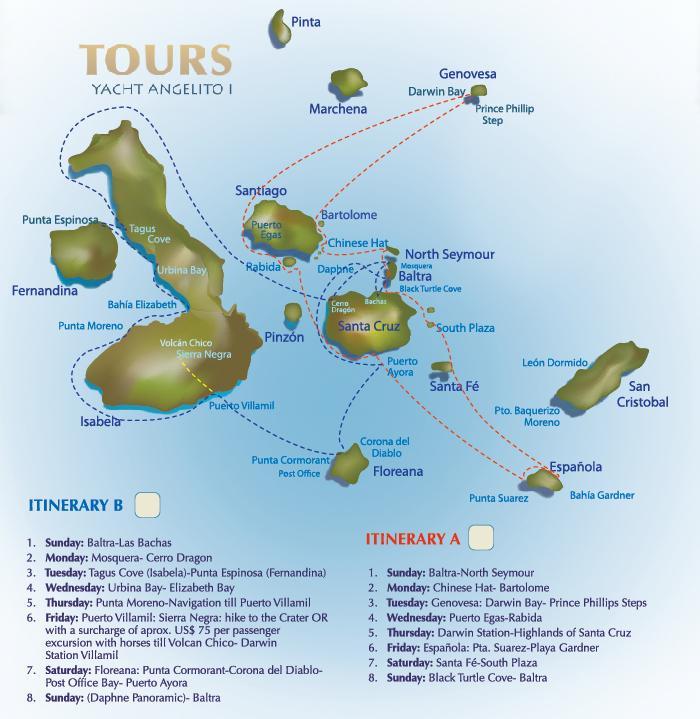 A4 Itinerary